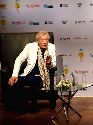 Award-winning British actor Ian McKellen. (File Photo: IANS) - Ian M