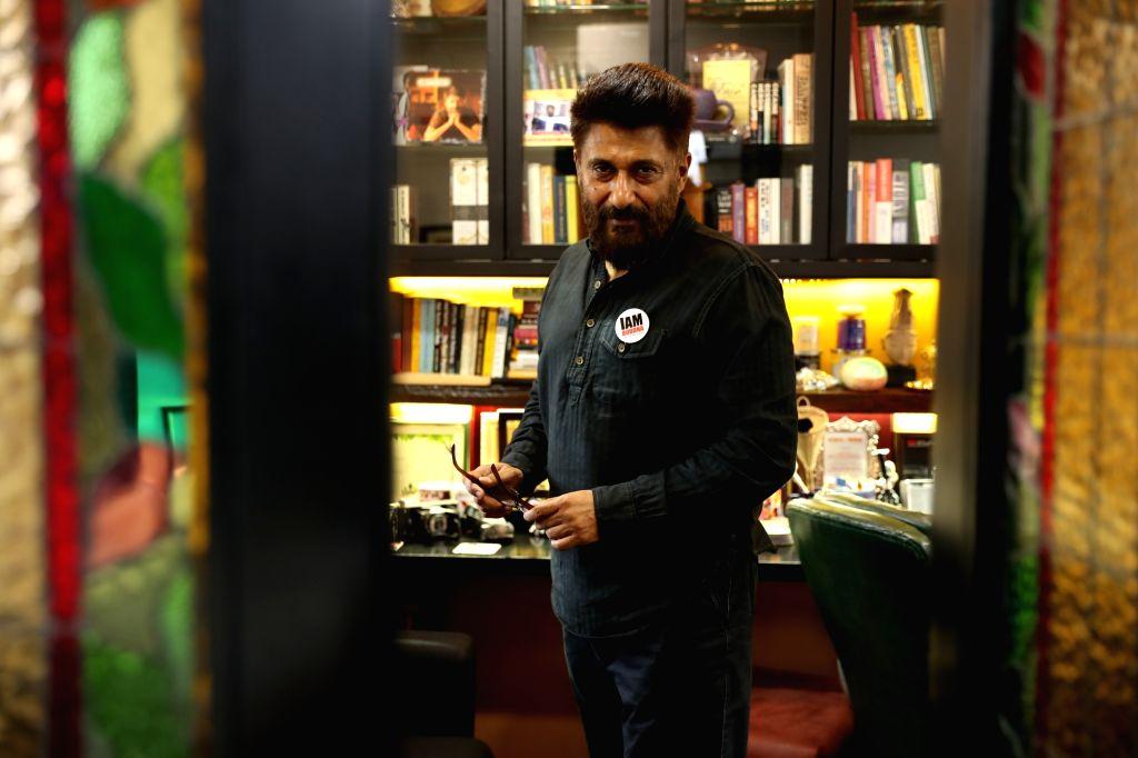 Award-winning filmmaker, bestselling author and free thinker Vivek Agnihotri.
