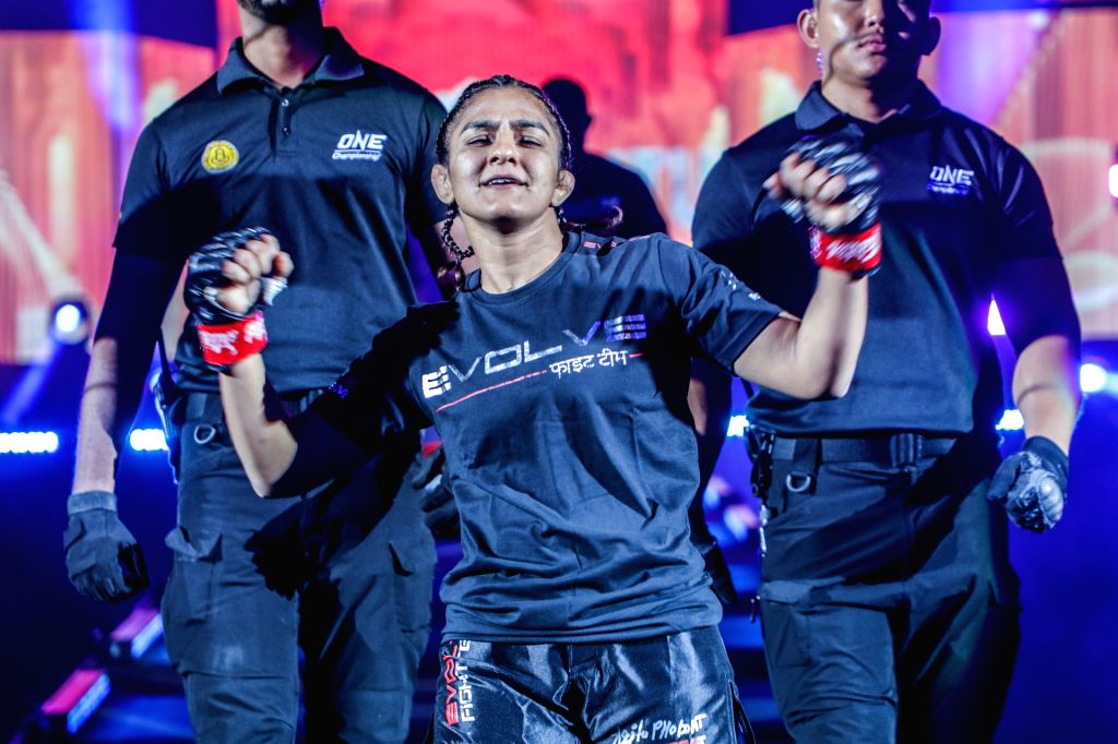 Away from home, ONE Championship athlete Ritu Phogat keeps herself busy with yoga, movies and books.