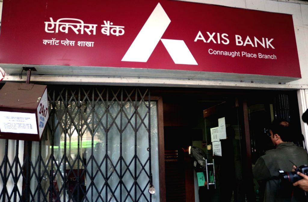 Axis Bank. (File Photo: IANS)