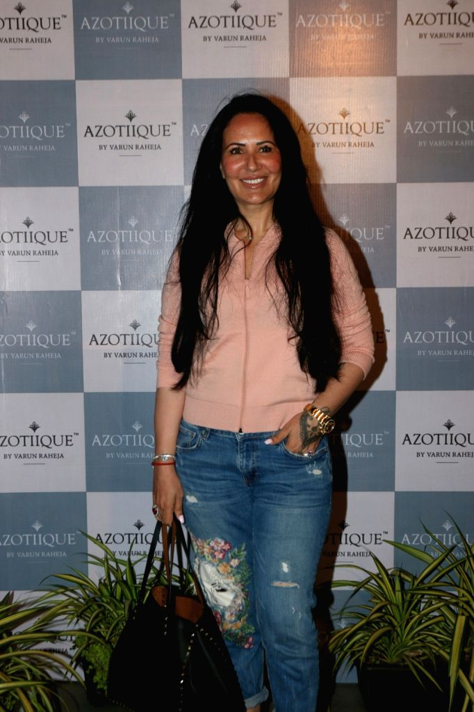 Ayesha Shroff during a Jewellery store launch in Mumbai on March 22, 2018.