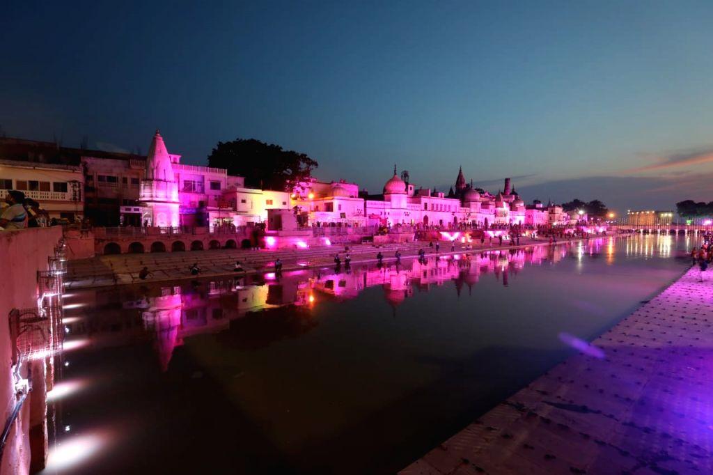 Ayodhya diwali.