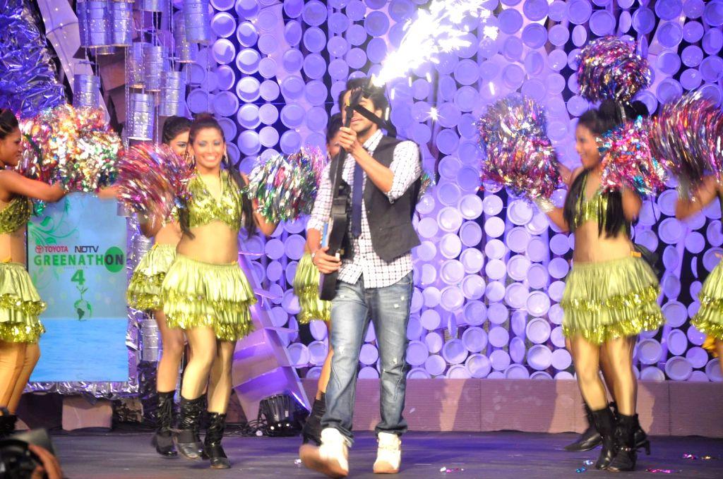 Ayushman Khurana on NDTV Greenathon event in Mumbai.