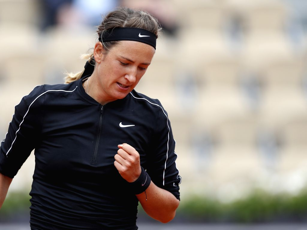 Azarenka ousts Williams, to face Osaka in US Open final. (Xinhua/Han Yan/IANS)