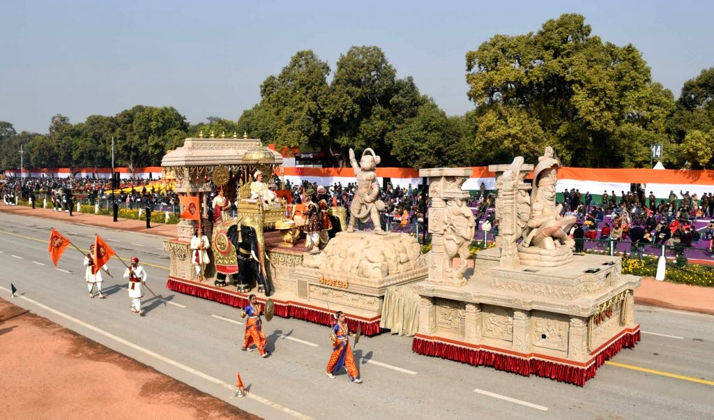 "B'LORE ON: ""Karnataka showcases Vijayanagara empire at R-Day parade in Delhi."