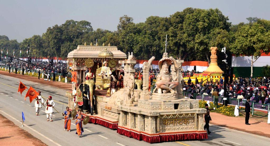 "B'LORE ON: ""Karnataka showcases Vijayanagara empire at R-Day parade in Delhi."