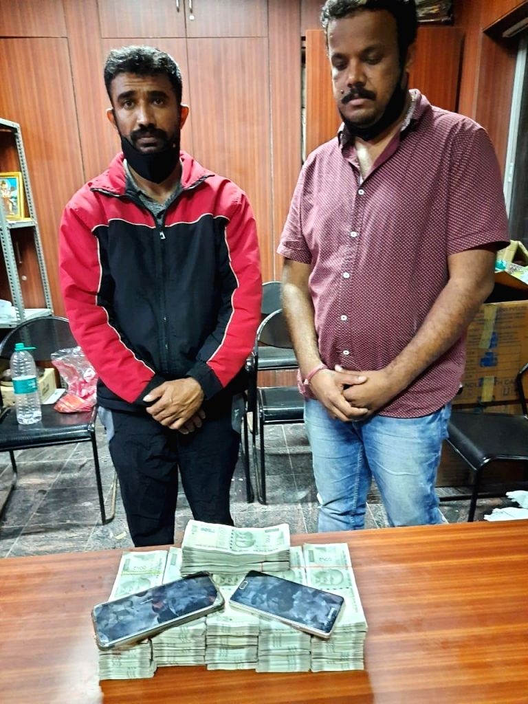 B'luru police arrests two persons in connections with IPL cricket match