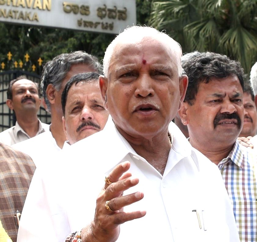 B. S. Yeddyurappa. (File Photo: IANS)