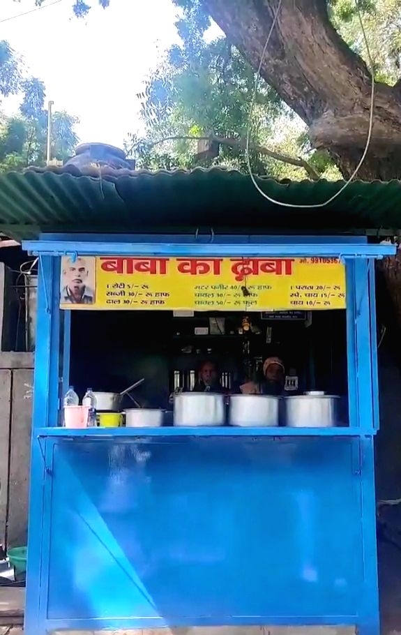 BabaKaDhaba trends as B'wood urges fans to help struggling elderly food stall owners.