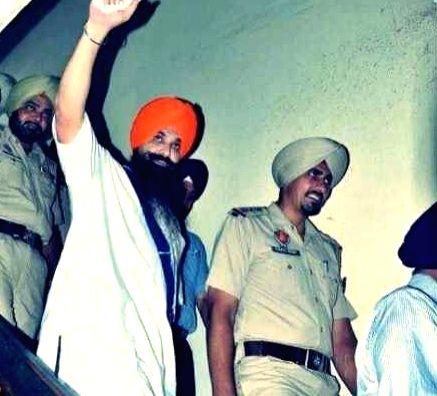 Babbar Khalsa terrorist Balwant Singh Rajoana. - Balwant Singh Rajoana