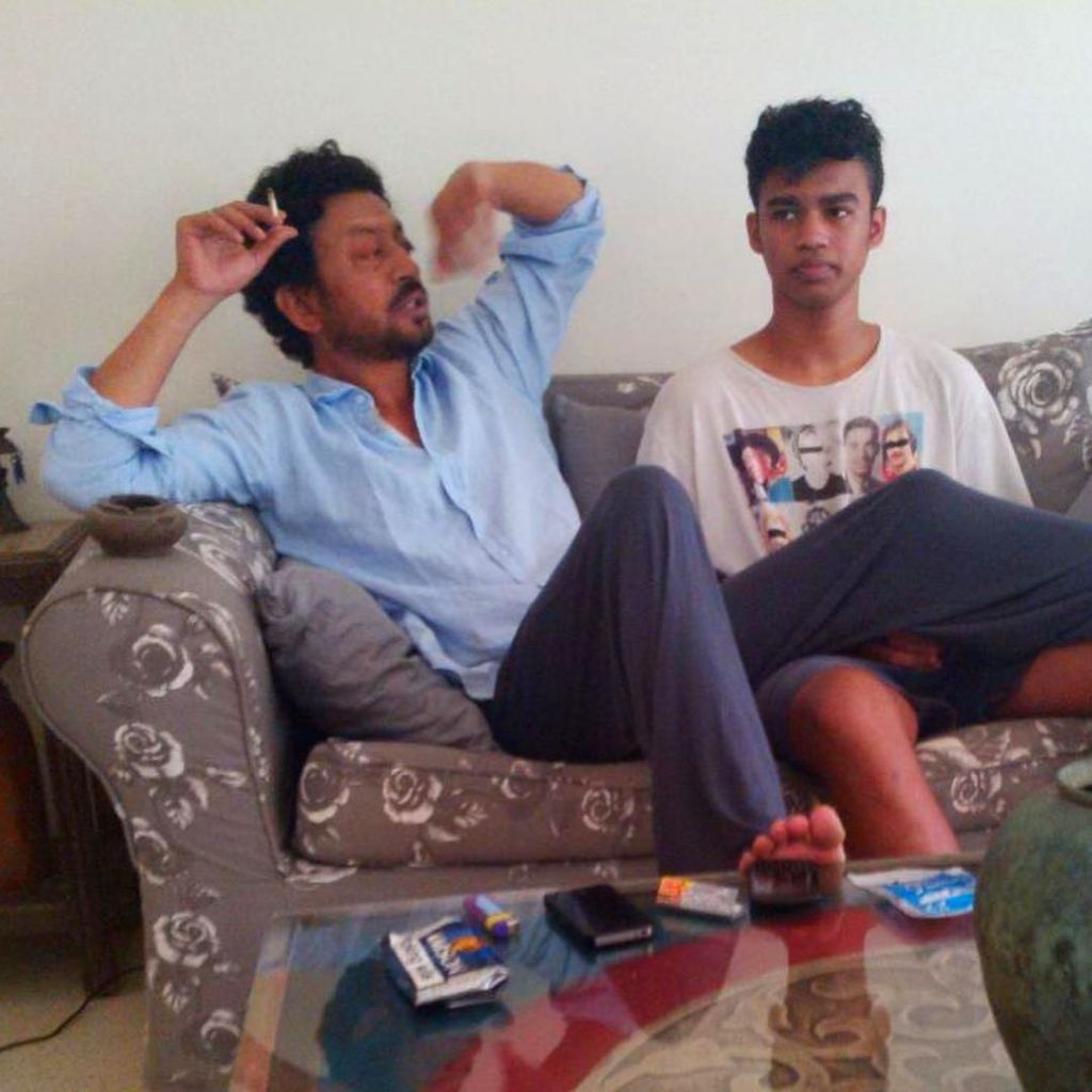 Babil to dad Irrfan: Working so hard man, wish you were here to witness.(photo:instagram)