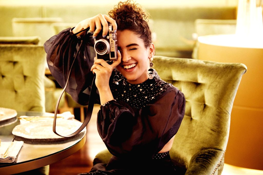 """Badhaai Ho"""" actress Sanya Malhotra is happy to escape the monsoon of Mumbai and enjoy the Qatar sun. The actress is doing all the touristy thingsfrom visiting famous places, capturing ... - Sanya Malhotra"""