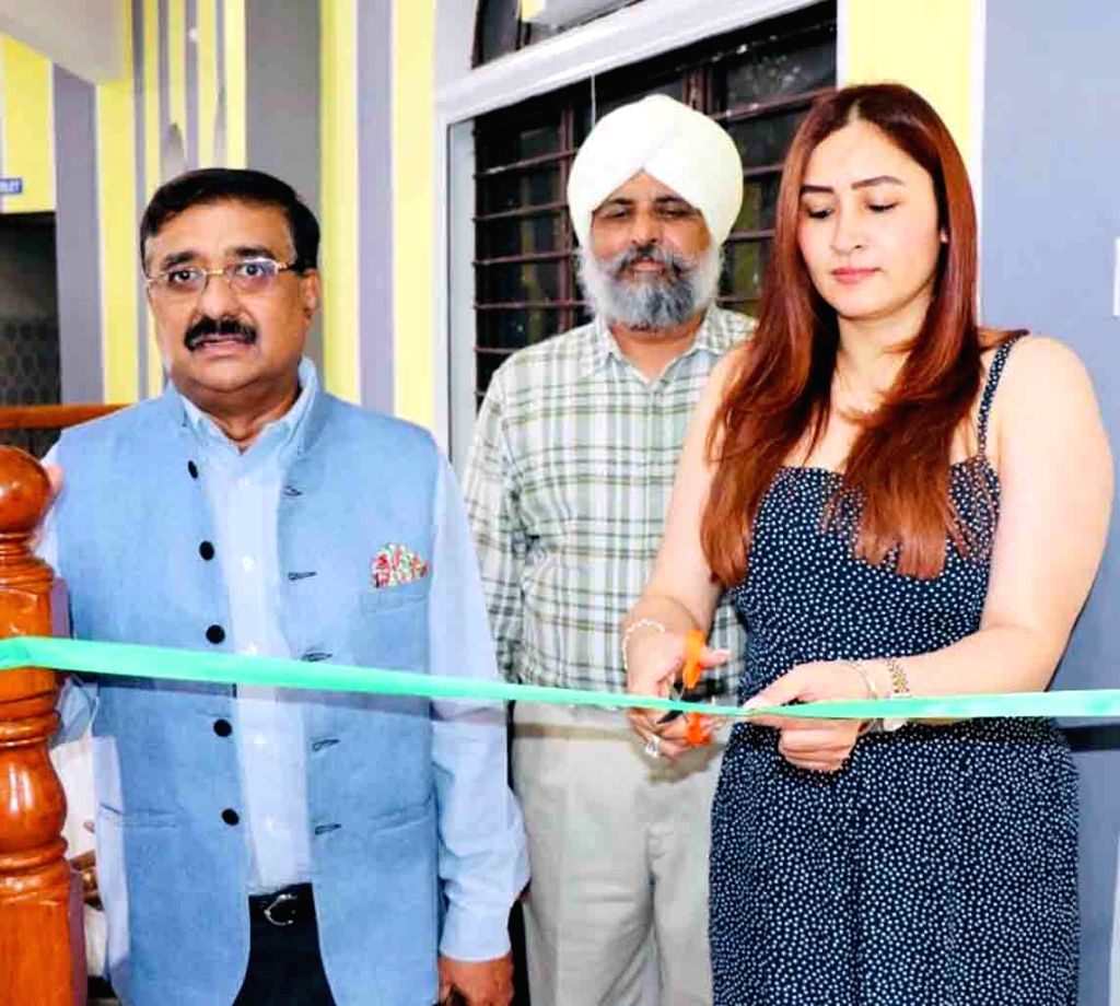 Badminton player Jwala Gutta at the inauguration of a gymnasium and an outdoor Badminton Court in Hyderabad on Sep 6, 2019.