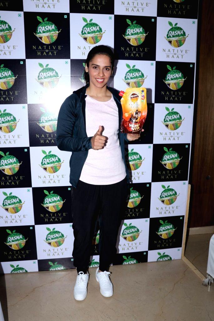 Badminton player Saina Nehwal during a program in Mumbai on Nov 29, 2018.