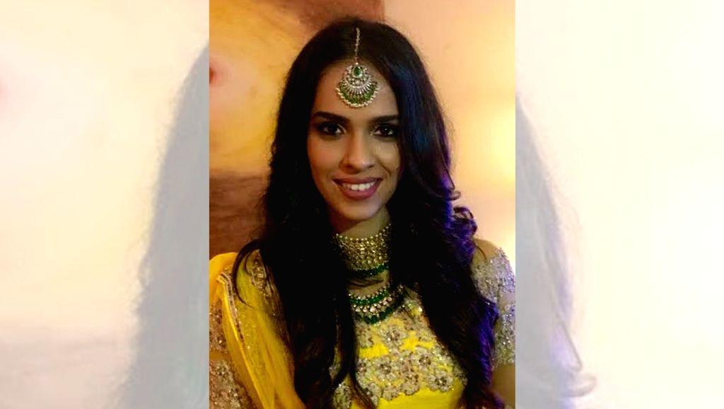 """Badminton star Saina Nehwal posted a photoraph of herself saying: """"I wish everyone a very happy Diwali."""