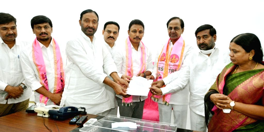 Bagath Kumar is TRS candidate for Assembly by-poll - Bagath Kumar