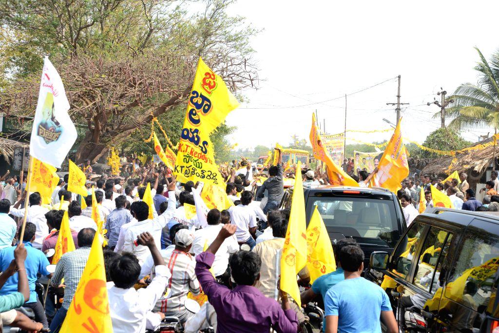 Bala Krishna pics at Hindapur.