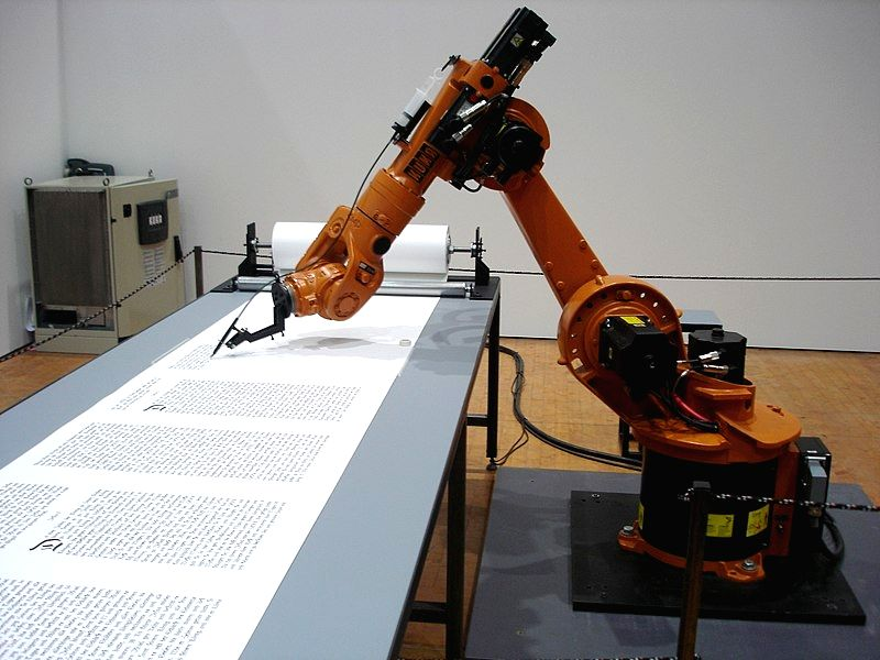 Baldwin attempts to understand, and convey to his readers, how the advancement in artificial intelligence may enable robots to perform many more tasks in the coming years.