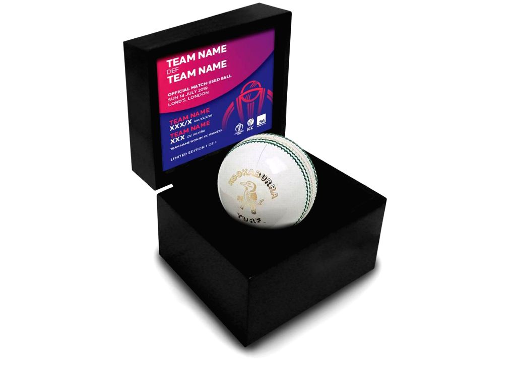 Ball used in ICC World Cup 2019.