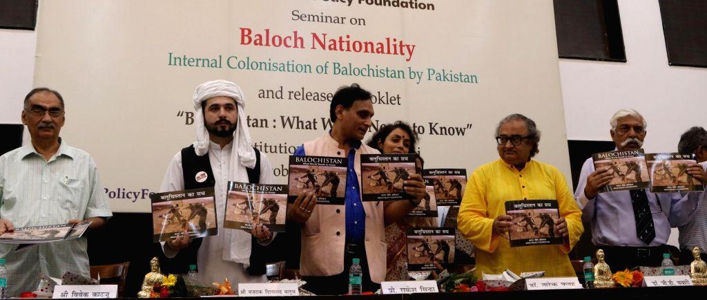 Baloch activist Mazdak Dilshad Baloch, former senior diplomat and an expert in India-Pak relations Vivek Katju and Canadian author and journalist of Pakistan origin Dr. Tarek Fatah release ...