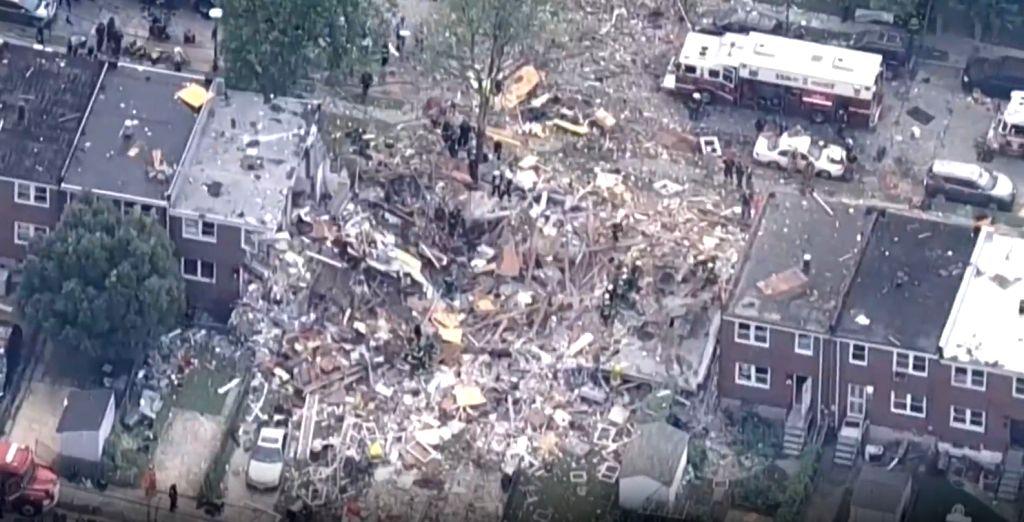 Baltimore gas explosion.