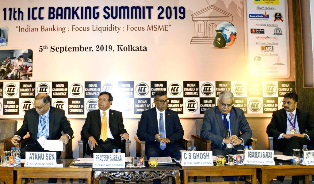 Bandhan Bank MD and CEO C. S. Ghosh, Bank of India Director and Former Union Bank of India CMD D. Sarkar, Punjab and Sind Bank Director Atanu Sen and Resurgent India Ltd. MD Jyoti Prakash ... - C. S. Ghosh