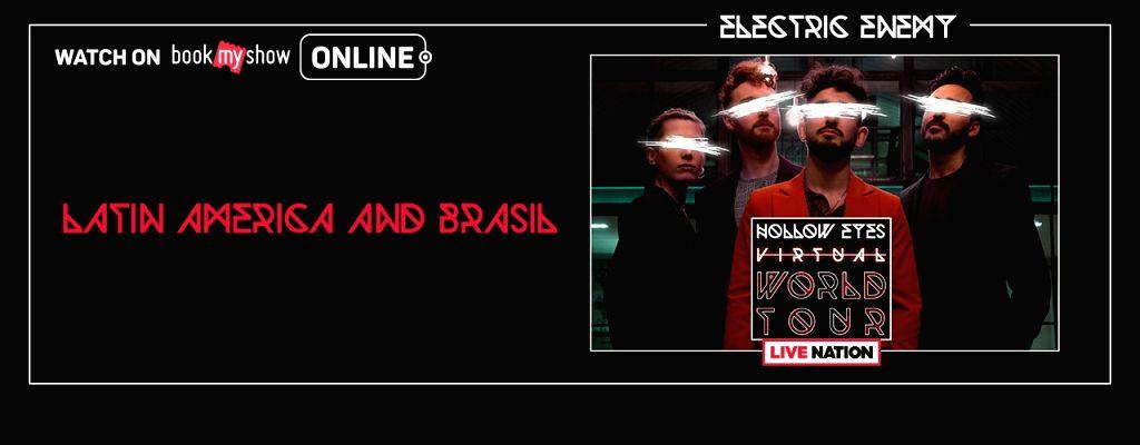 Bang Bang Romeo, Electric Enemy, Germein line up virtual gigs.