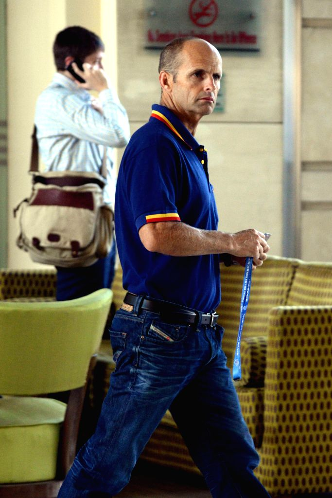 Former South African cricketer Gary Kirsten at the player auctions of the IPL 2015 edition in Bangalore, on Feb 16, 2015.