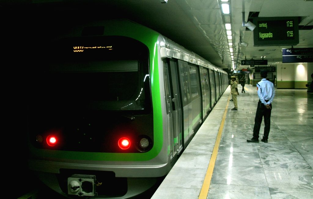Bangalore Metro. (File Photo: IANS)