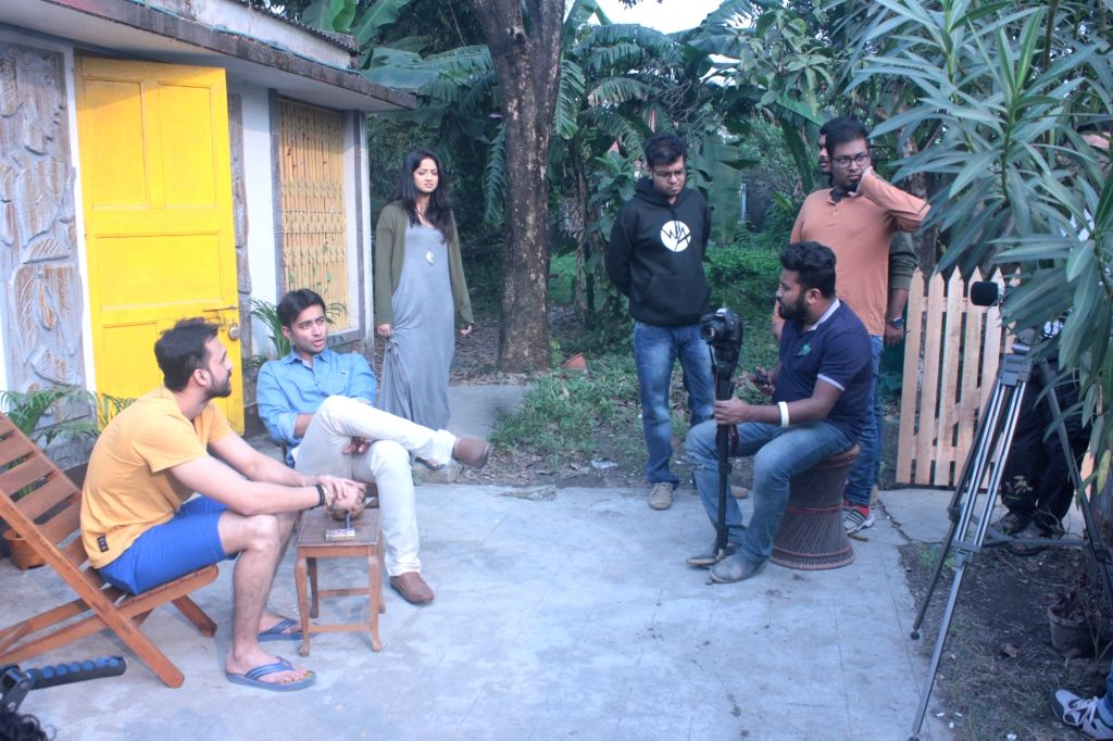 Bangla web series shot without a script to go live on July 7.