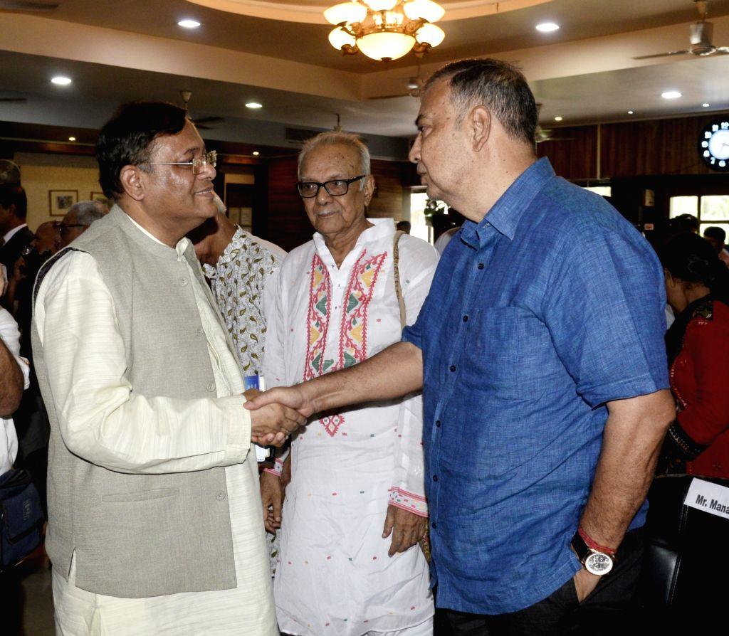 Bangladesh Information Minister Muhammad Hasan Mahmud during a programme in Kolkata on Sep 14, 2019. - Muhammad Hasan Mahmud