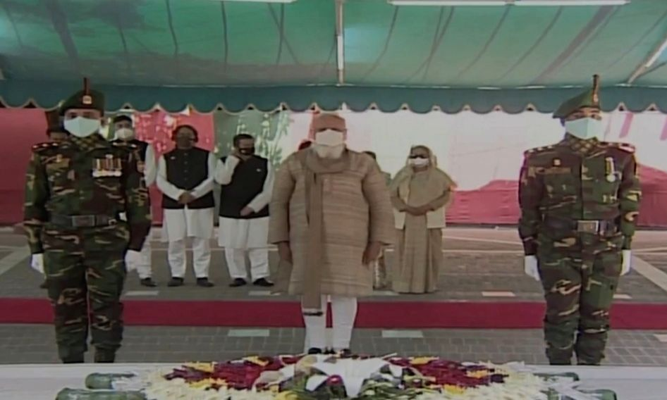 Bangladesh is the strong example of communal harmony-India is with B'desh all the time-ModiModi