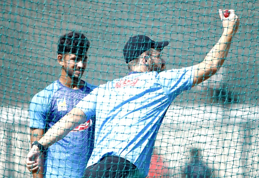 Bangladesh spin bowling coach Daniel Vettori during a practice session ahead of the 1st Test match against India, at Holkar Cricket Stadium in Indore, Madhya Pradesh on Nov 12, 2019.