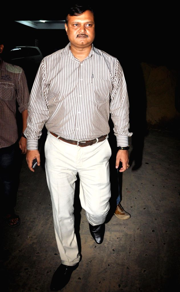 Bapi Karim, the former aide of West Bengal Transport Minister and Trinamool Congress leader Madan Mitra, comes out after CBI interrogation regarding multi-crore rupee Saradha chit fund scam in ...