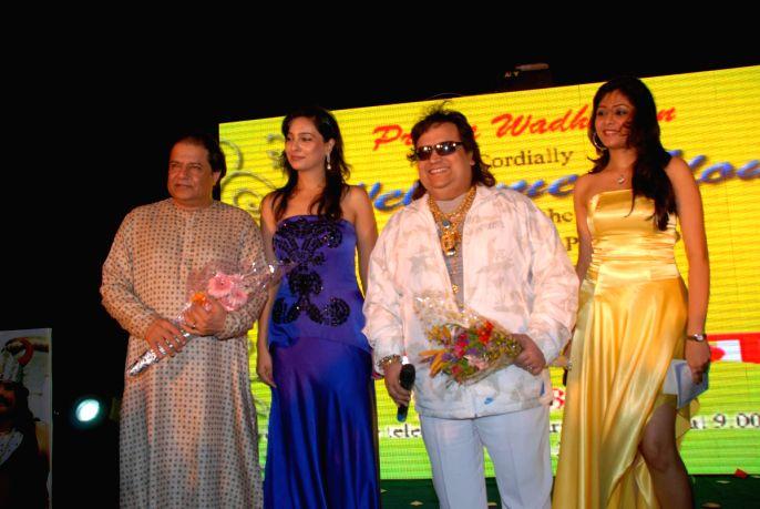 Bappi Lahari at Adda concer at Channel V Big.