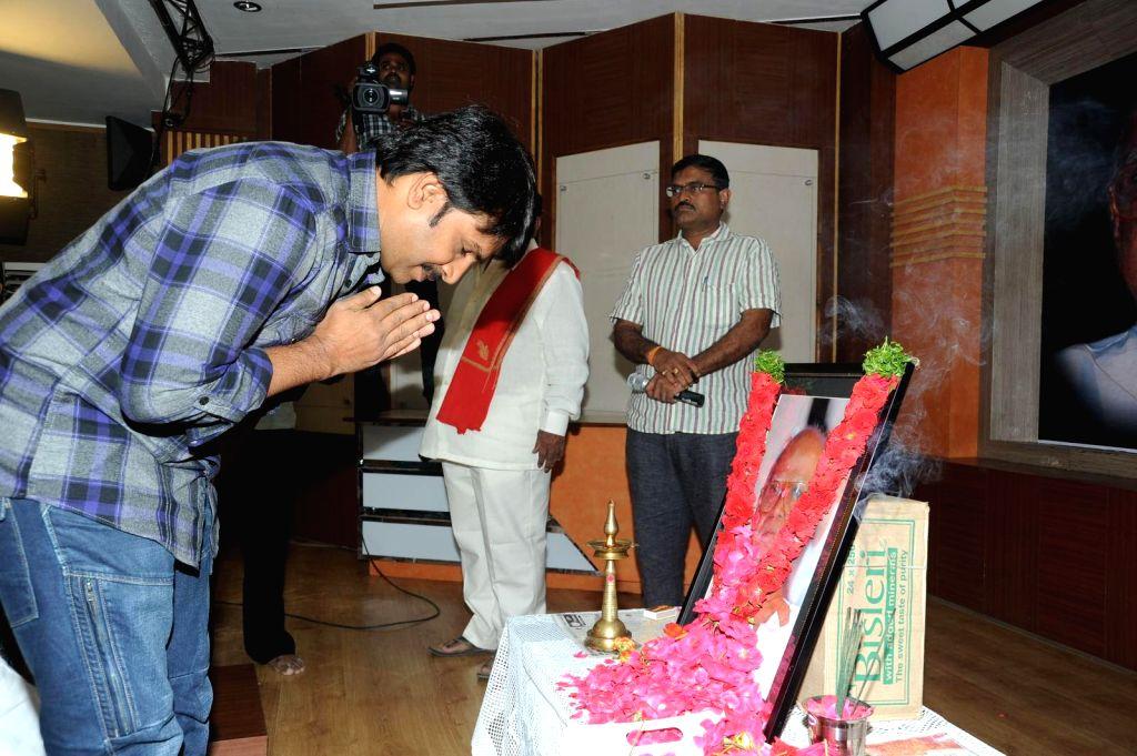Bapu condolence meet held at Jubelee Hills, Film Chamber Hall on 3, Sept. 2014.