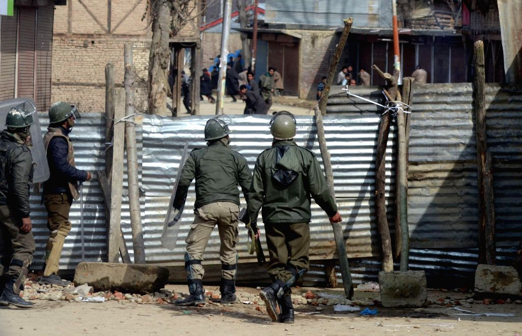 People continue to clash with the security personnel deployed in Palhallan area of Baramulla district following the death of a youth in a firing by the security personnel in the area ...