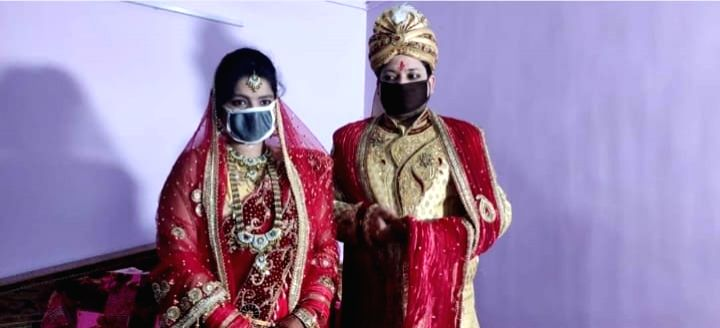 Bareilly (UP), April 22 (IANS) In an unusual incident in Uttar Pradesh, the family of a young woman has lodged a case against her prospective groom when the latter refused to solemnize the marriage through video call. The incident took place in Karua