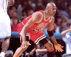 Basketball legend Michael Jordan.