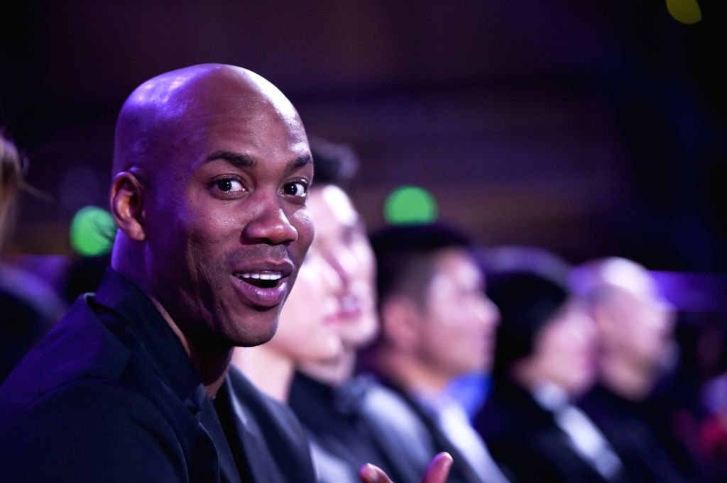 Basketball player Stephon Marbury. (File Photo: Xinhua/Yao Jianfeng/IANS)