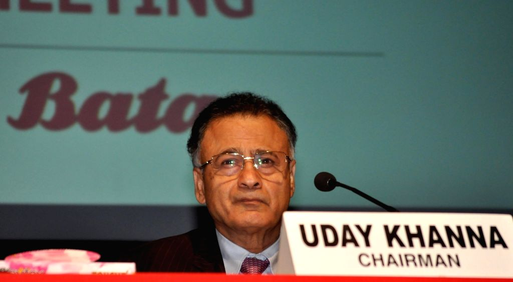 Bata India Chairman Uday Khanna during company's 85th Annual General Meeting in Kolkata on July 20, 2018. - Uday Khanna