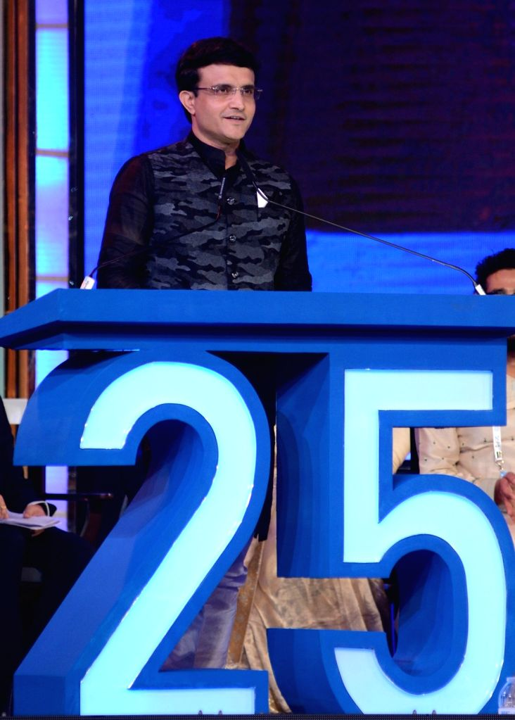 BCCI President Sourav Ganguly addresses at the inaugural session of 25th Kolkata International Film festival, in Kolkata on Nov 8, 2019. - Sourav Ganguly