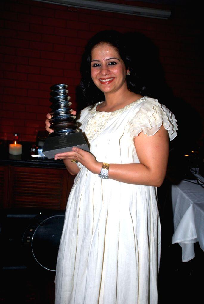 Beauty & wellness industry entrepreneur Kiran Bawa at an event orgaisned by her.