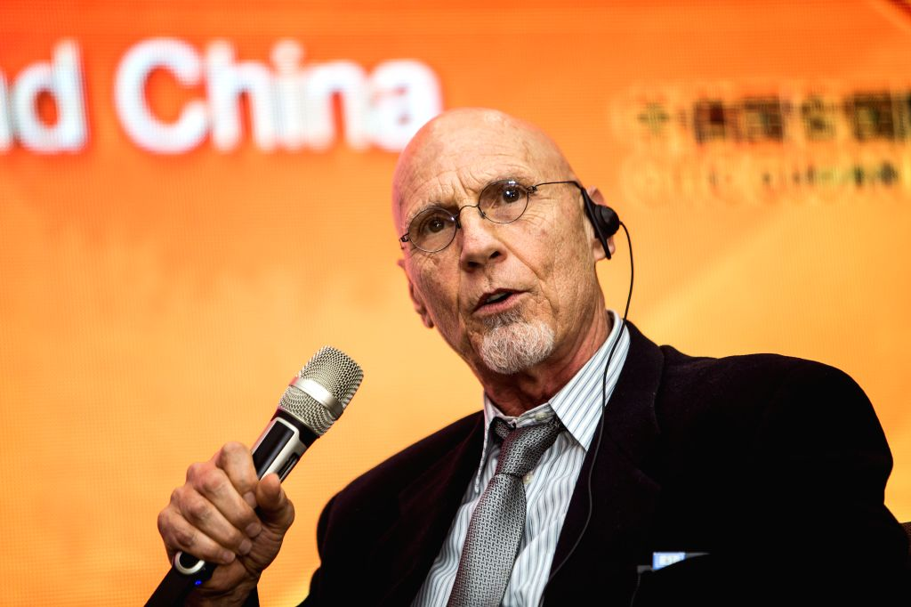 BEIJING, April 17, 2016 - Hollywood film producer and technical director Keith Collea speaks at a forum on film sound production during the 6th Beijing International Film Festival (BJIFF) in Xianghe, ... - Keith Collea