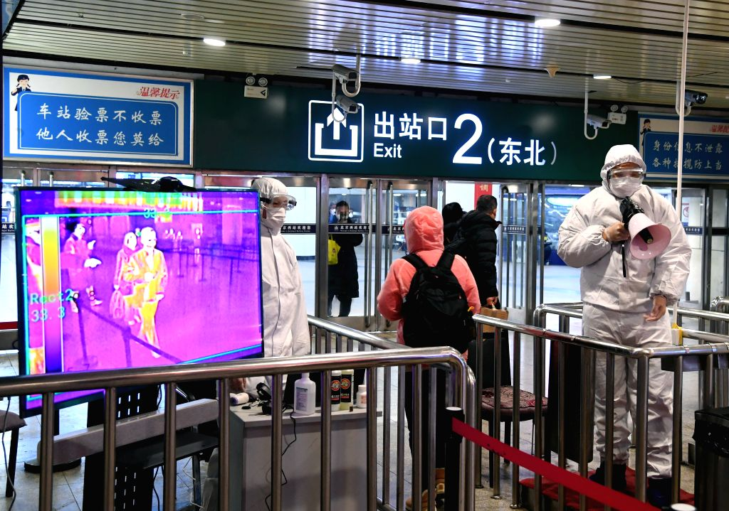 Beijing confirmed six new domestically transmitted COVID-19 cases after the Chinese capital recorded its first domestic infected earlier in the week in almost two months, authorities said on Saturday. (Xinhua/Ren Chao)