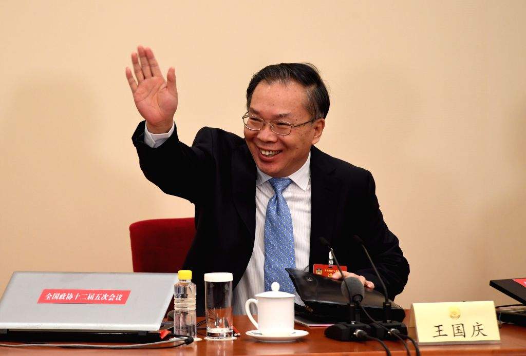 BEIJING, March 2, 2017 - Wang Guoqing, spokesperson for the fifth session of the 12th Chinese People's Political Consultative Conference (CPPCC) National Committee, attends a press conference at the ...