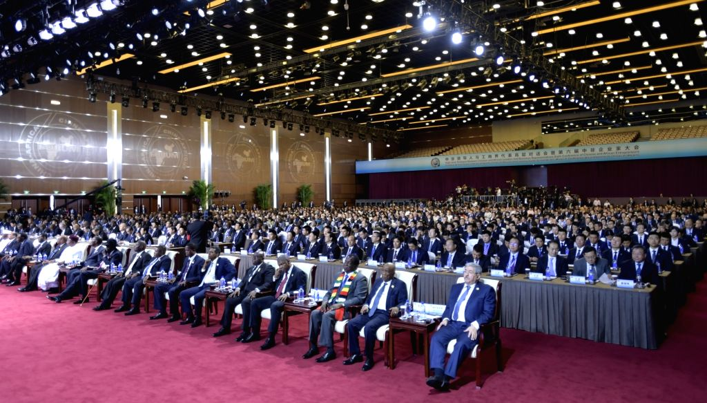 BEIJING, Sept. 3, 2018 - ers and delegates attend the opening ceremony of the High-level Dialogue Between Chinese and African ers and Business Representatives as well as the Sixth Conference ...