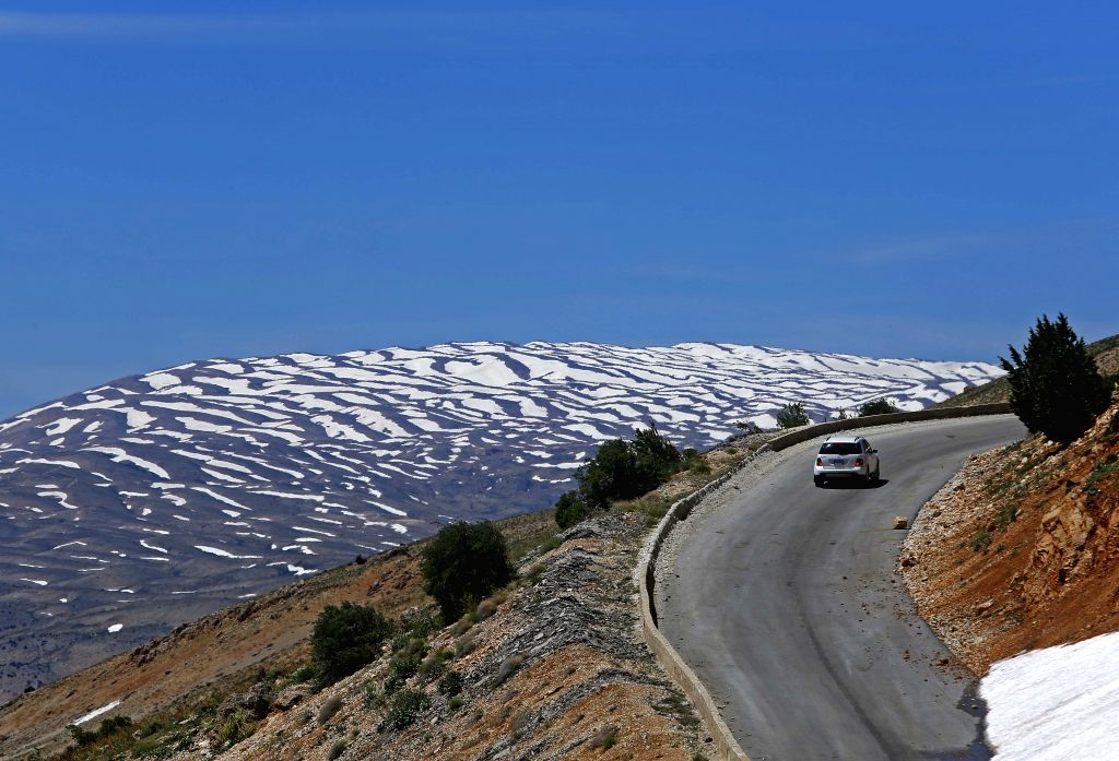 BEIRUT, May 27, 2019 - Photo taken on May 26, 2019 shows the scenery on the way to Bekaa valley in Lebanon. (Xinhua/Bilal Jawich\IANS)
