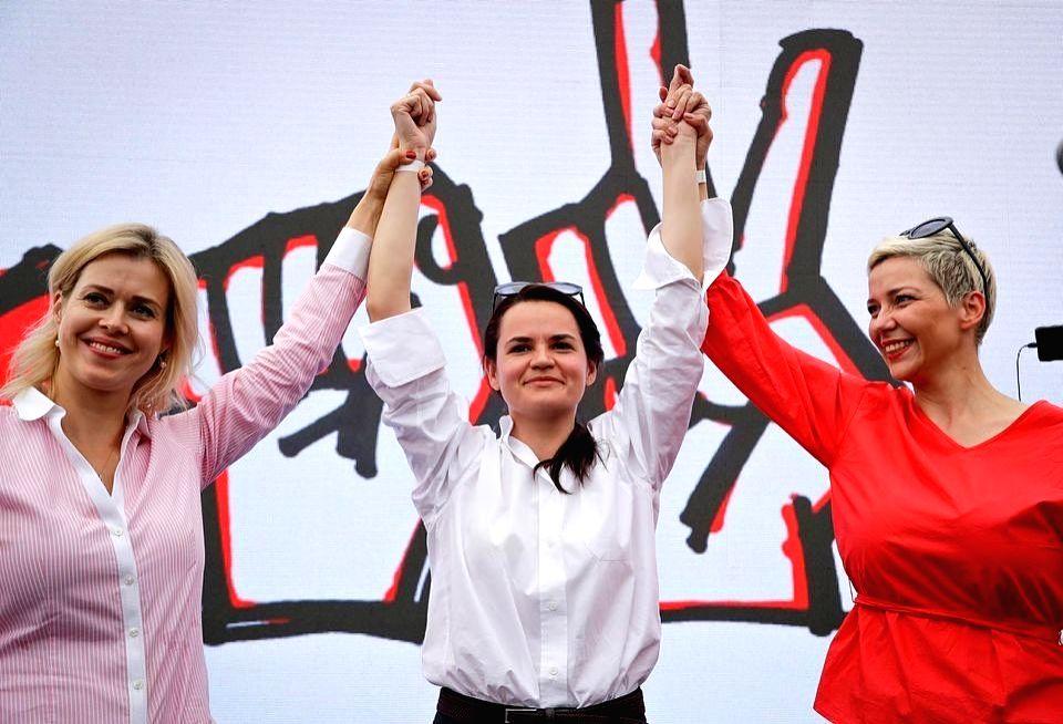 Belarusian opposition leader Svetlana Tikhanovskaya