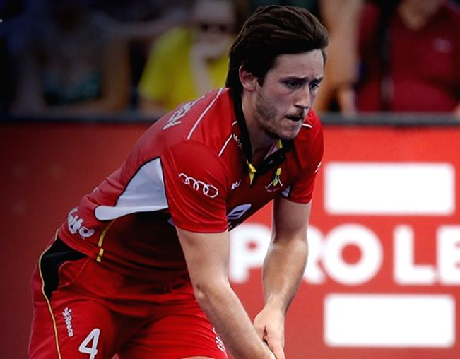 Belgium captain Thomas Briels. - Thomas Briels